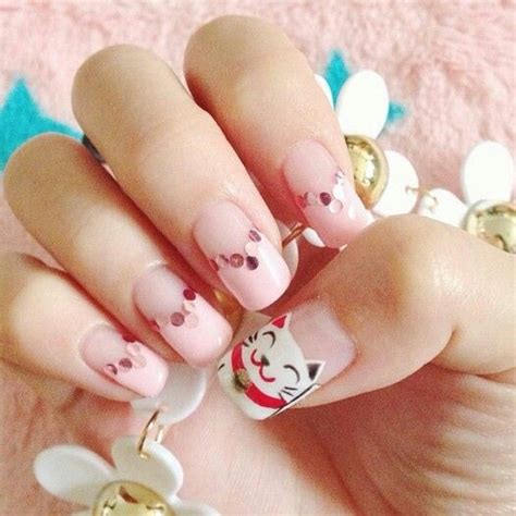 new year simple nail manicure inspiration cny 2016 edition a shopaholic s den
