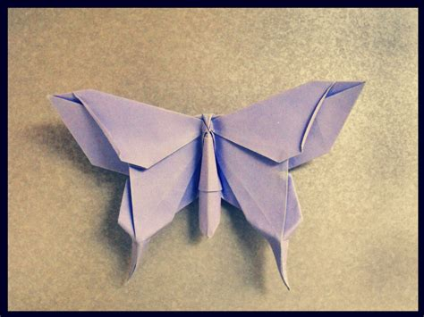 Origami Of Butterfly - origami butterfly by alejandro delafuente on deviantart