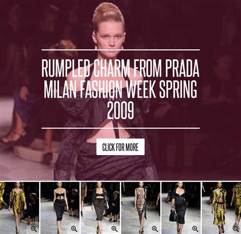 Rumpled Charm From Prada Milan Fashion Week 2009 by Rumpled Charm From Prada Milan Fashion Week 2009