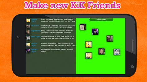 Find To Chat With On Kik Chat Friend For Kik Android Apps On Play