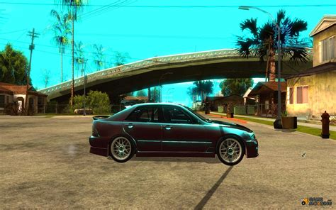 toyota altezza jdm toyota altezza rs200 jdm style for gta san andreas