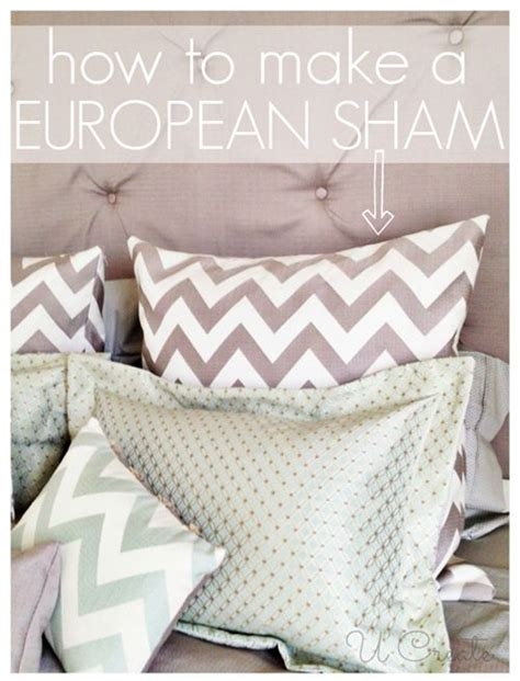 Pillow Sham Tutorial by Mattress Diy And Crafts And Tutorials On