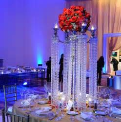 How To Decorate A Chandelier With Crystals Best Wedding Decorations Crystal Centerpieces For Your