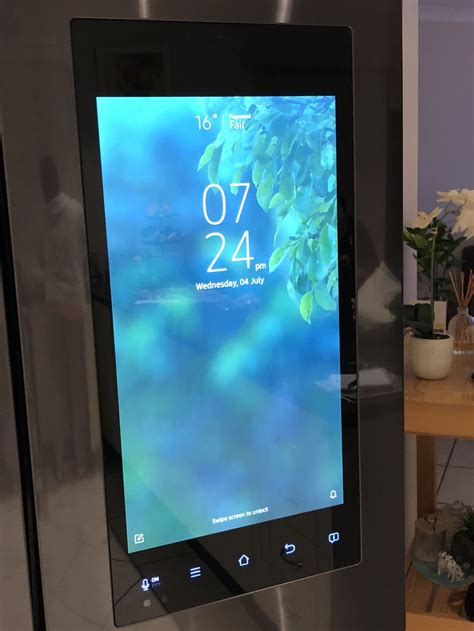 samsungs family hub fridge software update adds  number