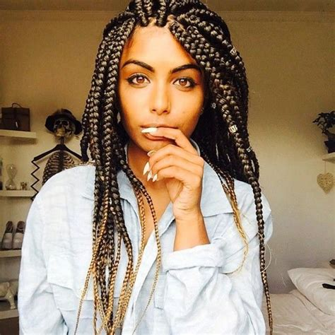 cute box braid colors 79 sophisticated box braid hairstyles with tutorial