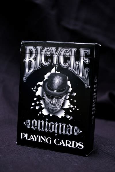 Bicycle Enigma Card enigmauncut max cards