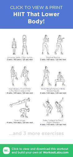 printable workouts images  pinterest