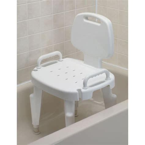 adjustable shower seat bath safety shower seat with arms and back