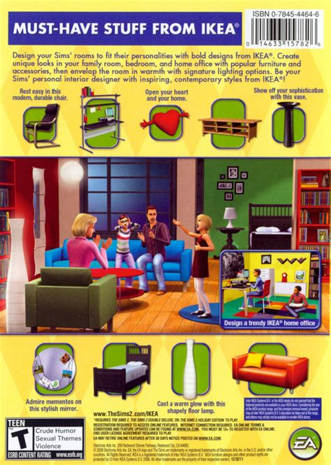sims 2 ikea home design kit keygen the sims 2 ikea home stuff 2008 windows box cover art