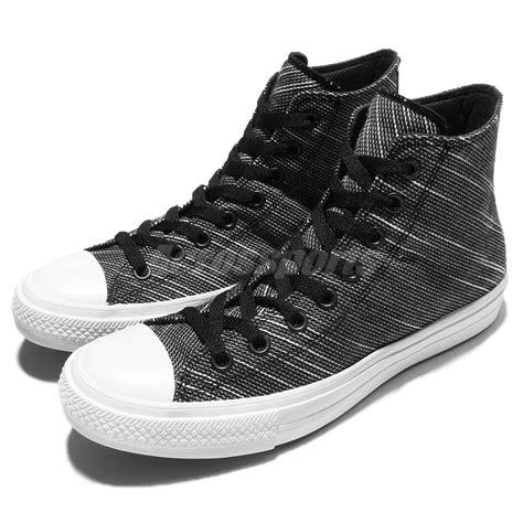 Converse Chuck Ii Black White Import converse chuck all ii knit black white lunarlon shoes 151087c ebay