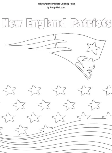 new england patriots coloring pages coloring home