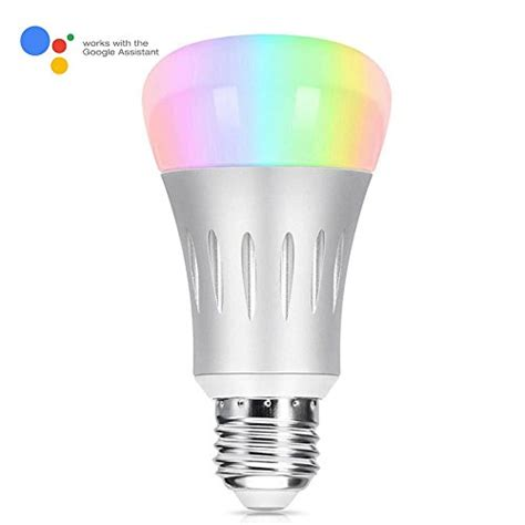 alexa compatible light bulbs wi fi smart led light tastech upgraded version