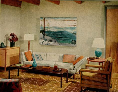 1960s living room blue brown 1960s living room warm cool tones george flickr