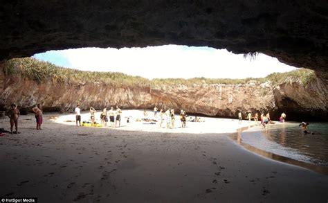 hidden beach in marieta mexico mexico s hidden beach at marieta islands
