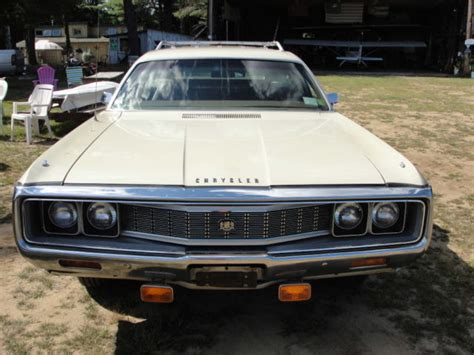 Chrysler Town And Country Wagon by 1971 Chrysler Town And Country Station Wagon For Sale