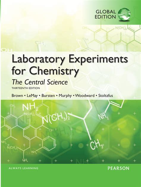 Pearson Education Laboratory Experiments For Chemistry