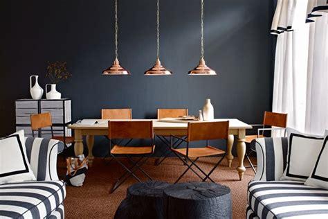 the copper room farrow black walls dining room ideas decorating design houseandgarden co uk