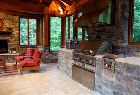 outdoor kitchen and fireplace outdoor kitchen design essentials