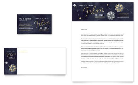 Iwork Business Card Templates by Festival Business Card Letterhead Template Design