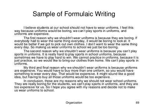 Should Schools Uniforms Persuasive Essay by Persuasive Essay On Wearing School Uniforms Persuasive