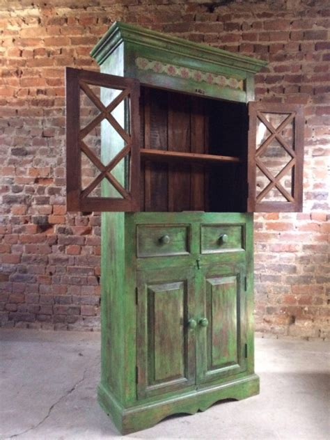 magnificent antique cupboard pantry french painted
