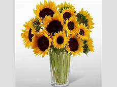 Golden Sunflower Bouquet | Judy's Village Flowers Gift Baskets Delivered Today