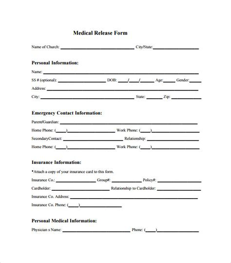 100 child medical consent form template sle