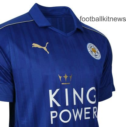 Jersey Leicester City Home 2016 2017 new leicester city jersey 2016 2017 lcfc home kit 16 17 football kit news new soccer