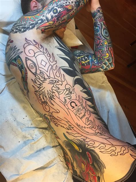 tattoo body suit tyson arndt suit