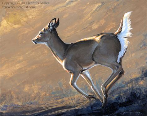 quot goldie quot whitetail deer acrylic painting 183 featherdust