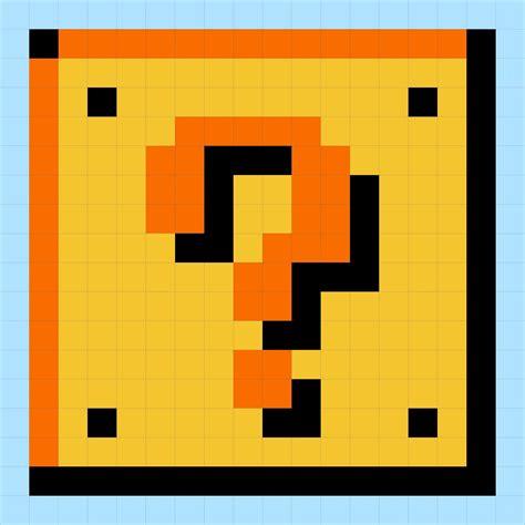 Mario Question Block L by Mario Icon For Token Boards Social