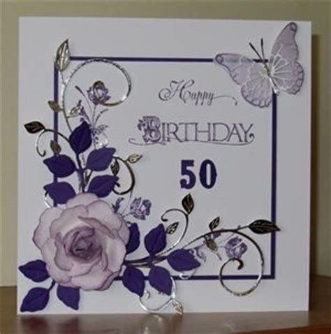 Handmade 50th Birthday Cards - 50 best 50th birthday cards images on