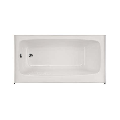 4 5 Ft Bathtub by Hydro Systems Trenton 4 5 Ft Left Drain Bathtub In White