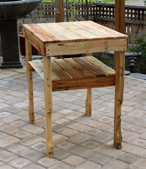 tables serving table pallet wood and diy pallet projects