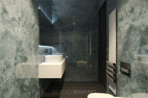 Marble Decor by Kiev Apartment Showcases Sleek Design With Surprising