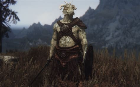 argonian and khajiit digitgrade with sos body texture at far forgotten argonian roots モデル テクスチャ skyrim mod