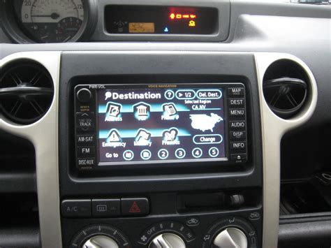 2006 scion xb manual accessories oem navigation