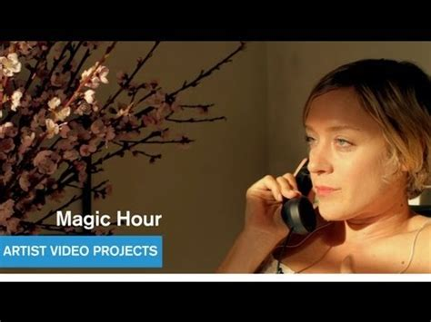 film magic hour stafaband chlo 235 sevigny gets angsty new short film magic hour by