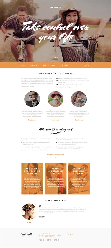 website templates for life coaches life coach web template