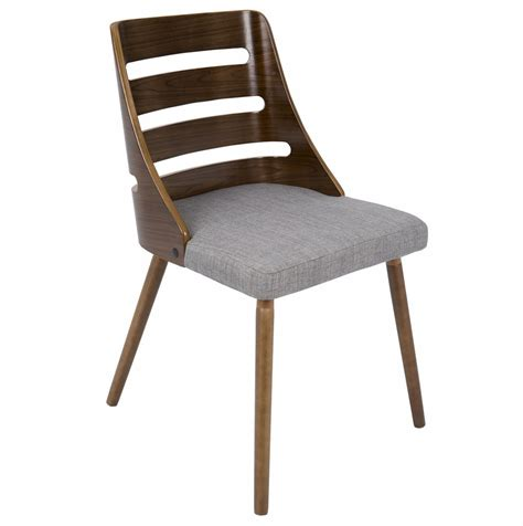 Lumisource Trevi Mid Century Modern Dining Chair Dining Chair Modern
