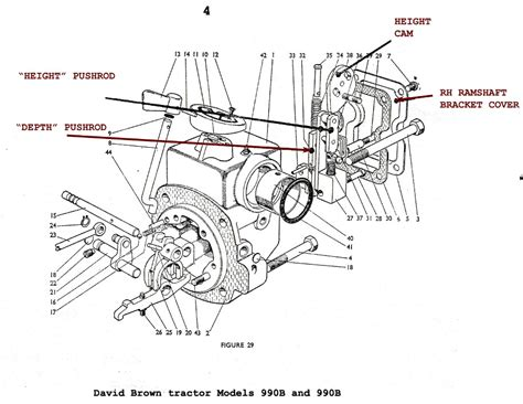 david brown 990 parts diagrams david brown 995
