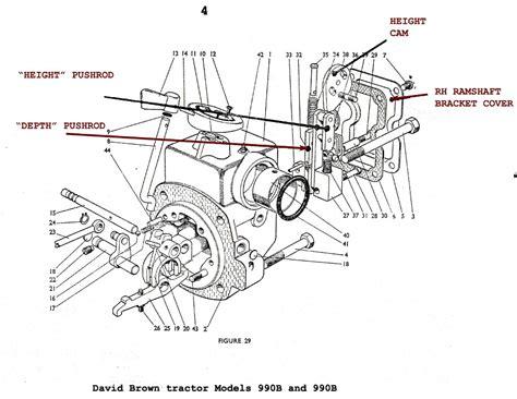 david brown tractor 1210 wiring diagram get free image
