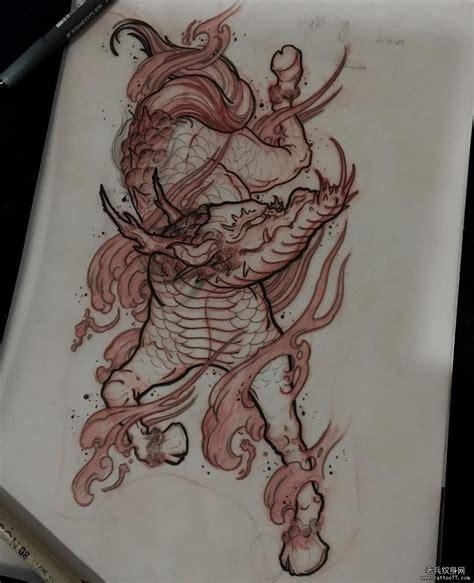 纹身图案大全 纹身手稿大全
