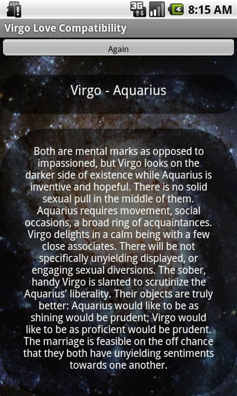virgo love compatibility android apps on google play