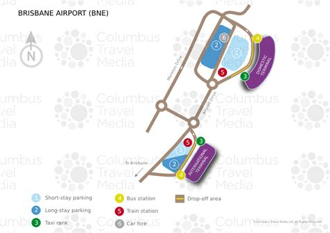 Return Intl brisbane airport world travel guide