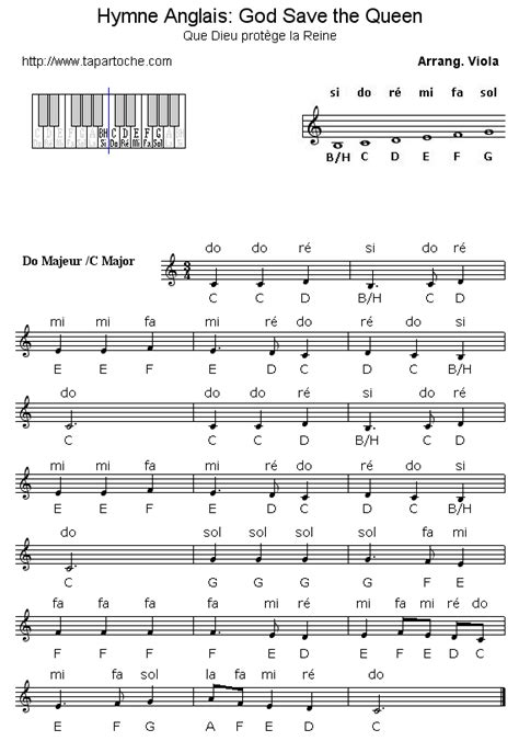 testo god save the hymne anglais god save the notes