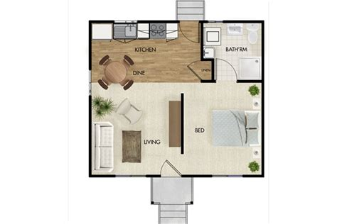 one bedroom house plan plans with basement flat floor home a 1 nice floorplan small space floor plans pinterest