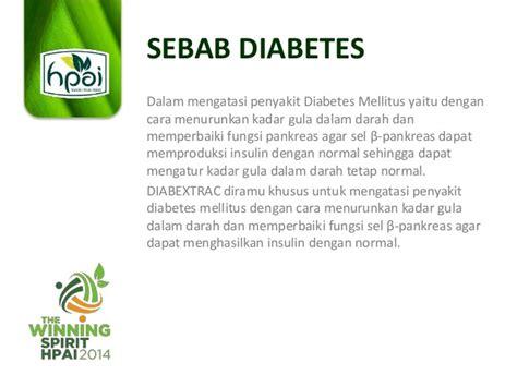 Diabextrac Hpai Untuk Kencing Manis Diabetes pengetahuan produk diabextrac hpai