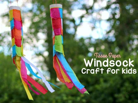 easy crown craft for kids where imagination grows tissue paper windsock craft where imagination grows
