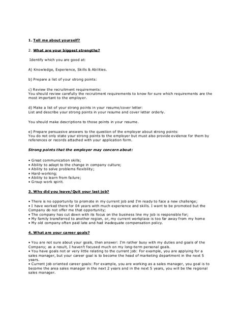 Resume Questions by Sle Resume Questions And Answers Sle Resume